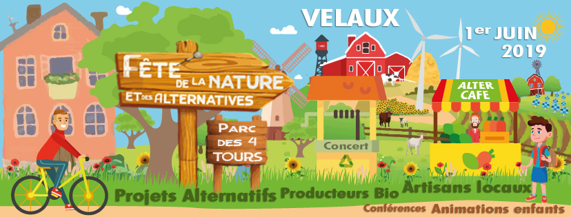 Bannière fête de la nature et des alternatives Alternative Velaux